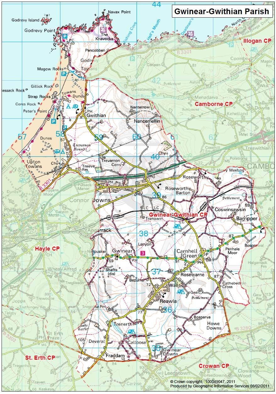 Gwinear-Gwithian Parish
