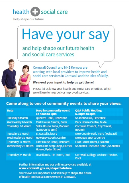 Health and Social Care Community Event