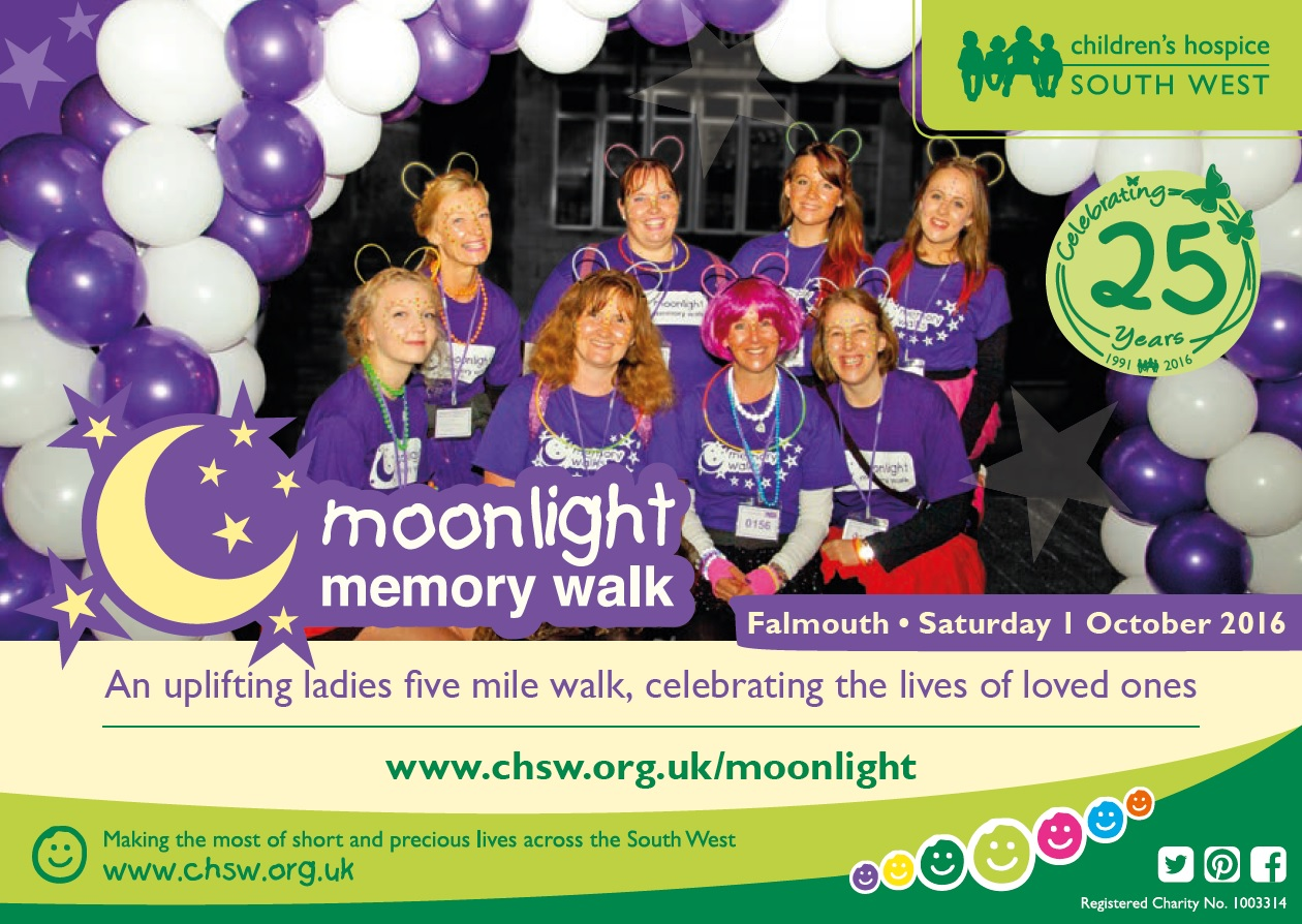 Moonlight Memory Walk – 1st October 2016