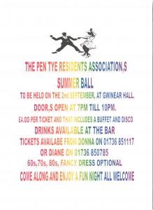 PTRA Summer Ball