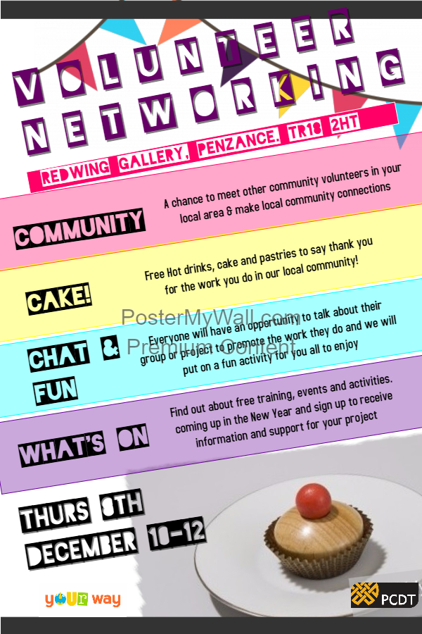 Community Networking Events: Penzance and Camborne