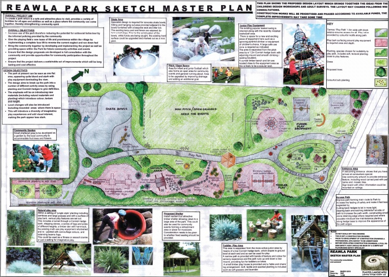 Invitation to Tender – Reawla Park – deadline extended to 9am 13th November