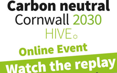 Cornwall Council – Carbon Neutral Cornwall event