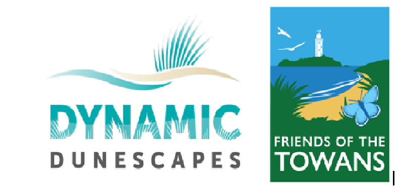 Dynanic Dunescapes logo and Friends of the Towans