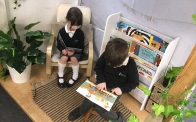 Grant towards books helping children with their phonics