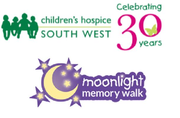 hildrens Hospice SW Moonlight Memory Walk logos