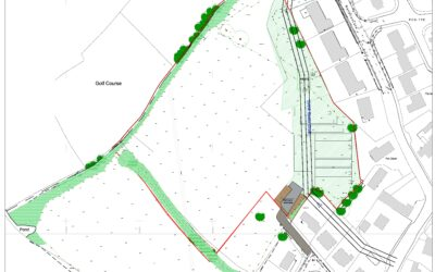 Potential new affordable housing scheme on land NW of Relistian Park, Reawla