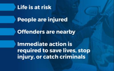 Devon & Cornwall Police – Help reduce 999 Emergency Calls this summer